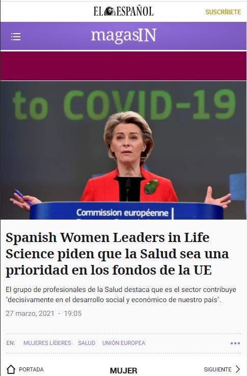 cobertura en medios: el español